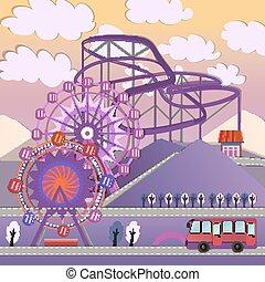 01 City Amusement park