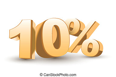 3d shiny golden discount collection - 10 percent