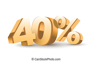 3d shiny golden discount collection - 40 percent