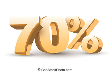 3d shiny golden discount collection - 70 percent