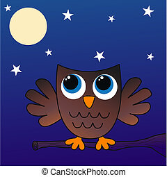 a brown owl