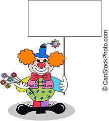 a happy clown