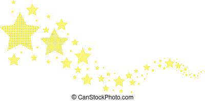 abstract stars