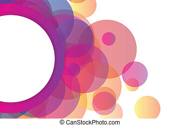 Abstract background with vector elements
