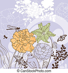 lovely floral card