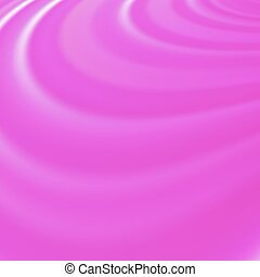 Abstract Glowing Pink Waves