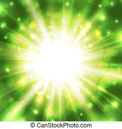 Abstract glowing vector background