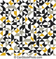 Abstract mosaic vector seamless background, tiling geometric pattern for wallpapers, wrapping paper or website backgrounds.