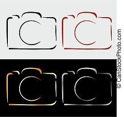 Abstract photography camera