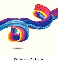 abstract rainbow flow 2401
