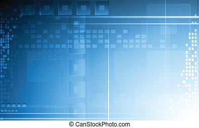 Hi-tech vector background. Eps 10 illustration