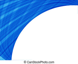 Abstract vector background with waves