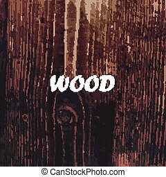 abstract vector background with wood texture