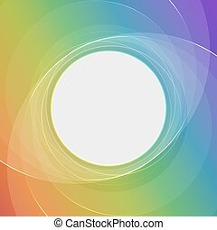 Abstract vector colored background with stripe for your content.