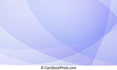 Abstract violet vector background with transparent bubbles