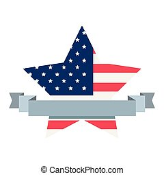 american flag star banner sign