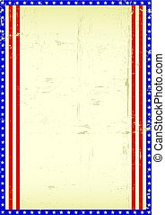 American frame background
