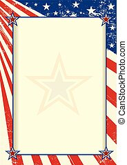 American frame poster