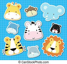animal baby vector