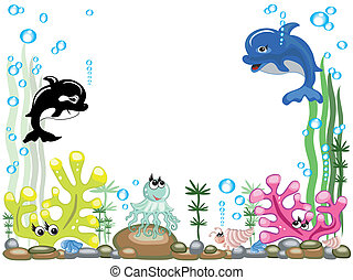 Aquarium, vector