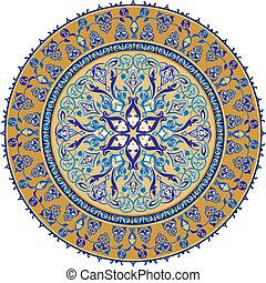 Arabic Classical Ornament, editable vector illustration
