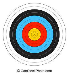 Archery Target vector illustration