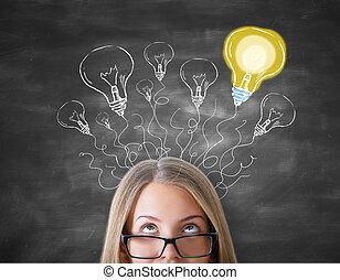 Creative ideas concept