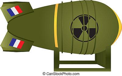 Aviation atomic bomb France