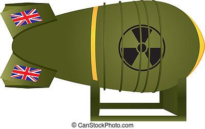 Aviation UK atomic bomb