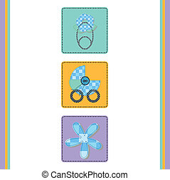 baby arrival and announcements card collection