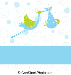 Baby arrival card