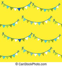 Baby Birthday Celebration Background