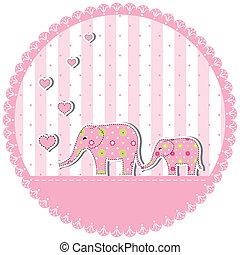 baby elephant flower