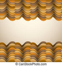 Background with abstract waves
