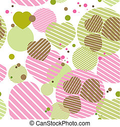 Background with heart. Vector