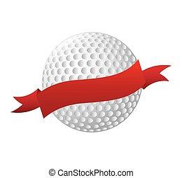ball golf equipment icon