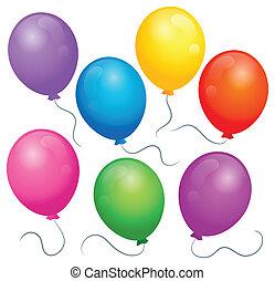 Balloons theme image 1