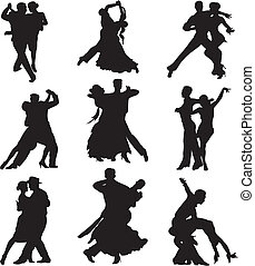 competitive dance, standard and latino dancing