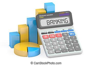 Banking concept, 3D rendering