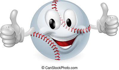 Baseball Ball Mascot