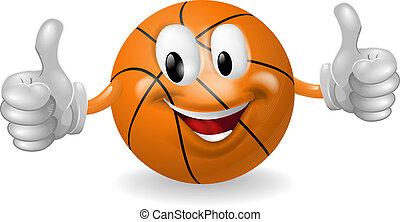 Basket Ball Mascot