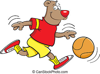 Basketball bear