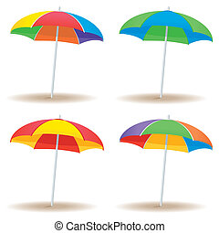 Beach umbrella variety