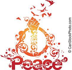 Beautiful Peace vector