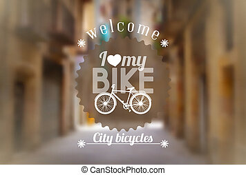 Bicycle background
