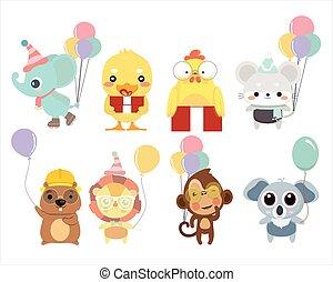 Birthday Animal Collection.
