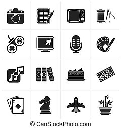 Hobbies and leisure Icons