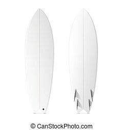 Blank surfboards