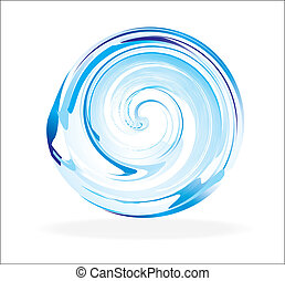 Abstract Glass Sphere