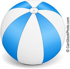 Blue Beach Ball